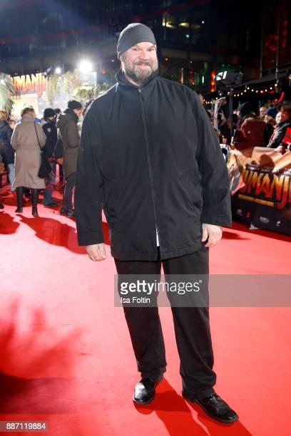 Joerg Moukaddam attends the German premiere of 'Jumanji Willkommen im Dschungel' at Sony Centre on December 6 2017 in Berlin Germany