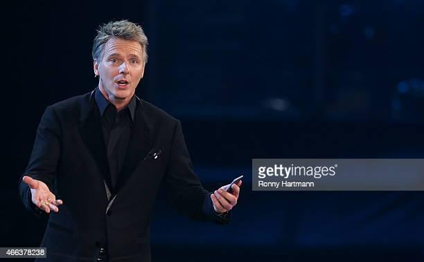 Joerg Pilawa attends the 'Die Besten im Fruehling' TV show at GETEC Arena on March 14 2015 in Magdeburg Germany