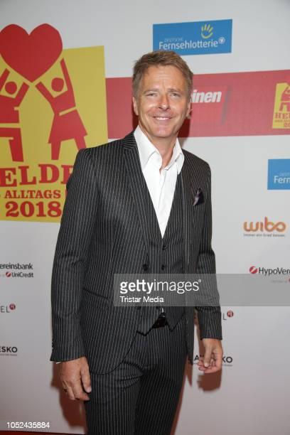 Joerg Pilawa attends the 'Helden des Alltags' gala at Theater Kehrwieder on October 17 2018 in Hamburg Germany
