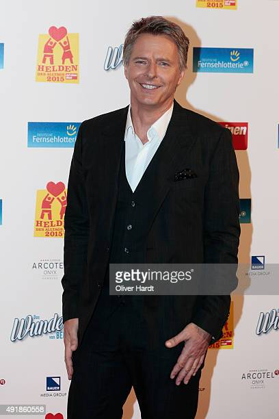 Joerg Pilawa poses during the 'Helden des Alltags 2015' gala at Theater Kehrwieder on October 8 2015 in Hamburg Germany