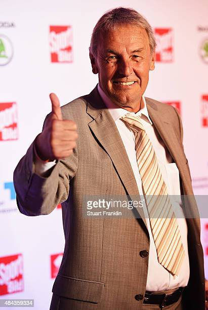 Joerg Wontorra poses for a picture at the Sport Bild Awards 2015 on August 17 2015 in Hamburg Germany