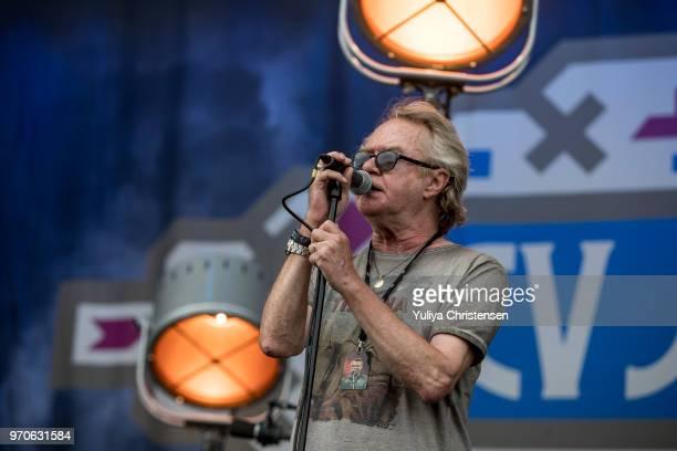 V Joergensen performs onstage at the Northside Festival on June 9 2018 in Aarhus Denmark