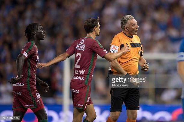 Joeri Van De Velde pictured during the Jupiler Pro League match between KRC Genk and Zulte Waregem on August 28, 2016 in Genk, Belgium , 28/08/16...