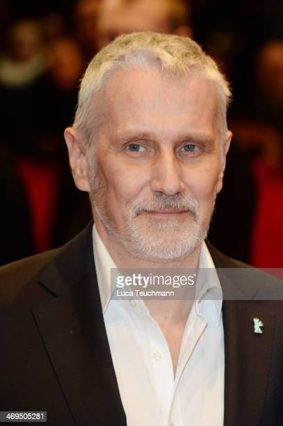 Joern Kubicki arrives for the closing ceremony during 64th Berlinale International Film Festival at Berlinale Palast on February 15, 2014 in Berlin,...