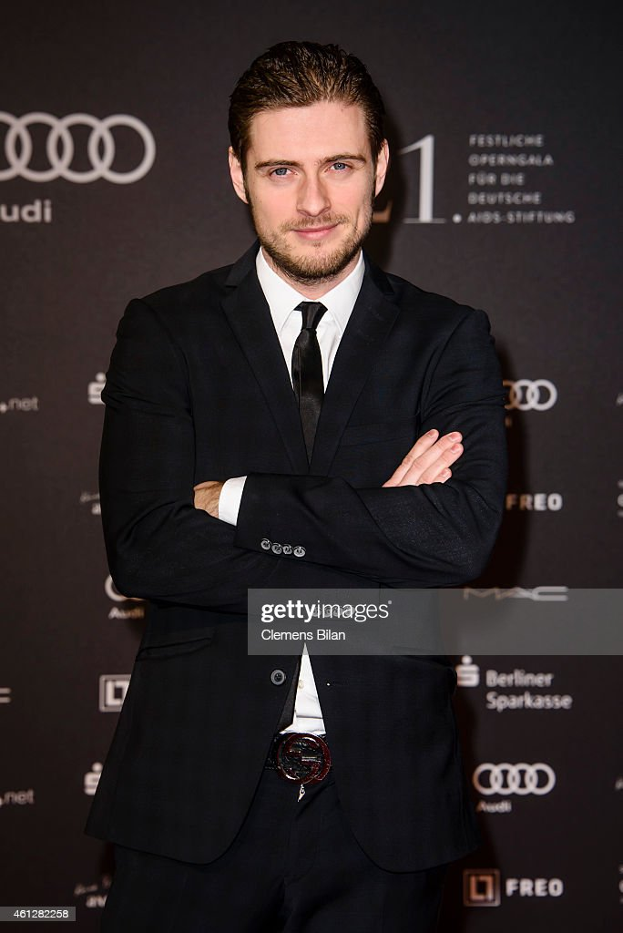 Joern Schloenvoigt attends the 21st Aids Gala at Deutsche Oper Berlin on January 10, 2015 in Berlin, Germany.