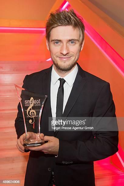 Joern Schloenvoigt attends the Smago Award 2014 at Best Western MOA Hotel on November 26, 2014 in Berlin, Germany.