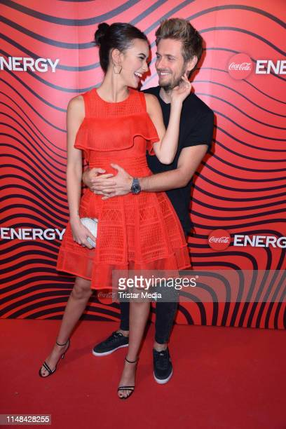 Joern Schloenvoigt Hanna Weig attend the Coca Cola Energy Release Party at GAGA Club on June 6, 2019 in Hamburg, Germany.
