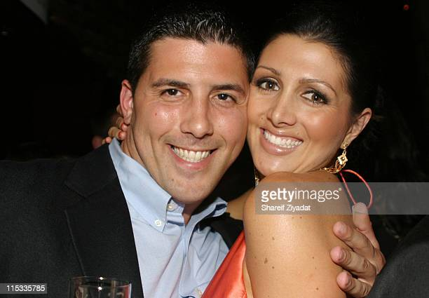 Joesph Isidori and Erin Elmore during The Girls Formerly on NBC's The Apprentice are Fired Up and Giving Back 6 October 2005 at Lotus in New York...