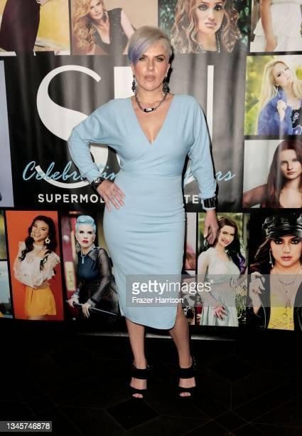JoEtta Conderman attends SU Magazine's 21st Anniversary Celebration at Avalon Hollywood & Bardot on October 09, 2021 in Los Angeles, California.