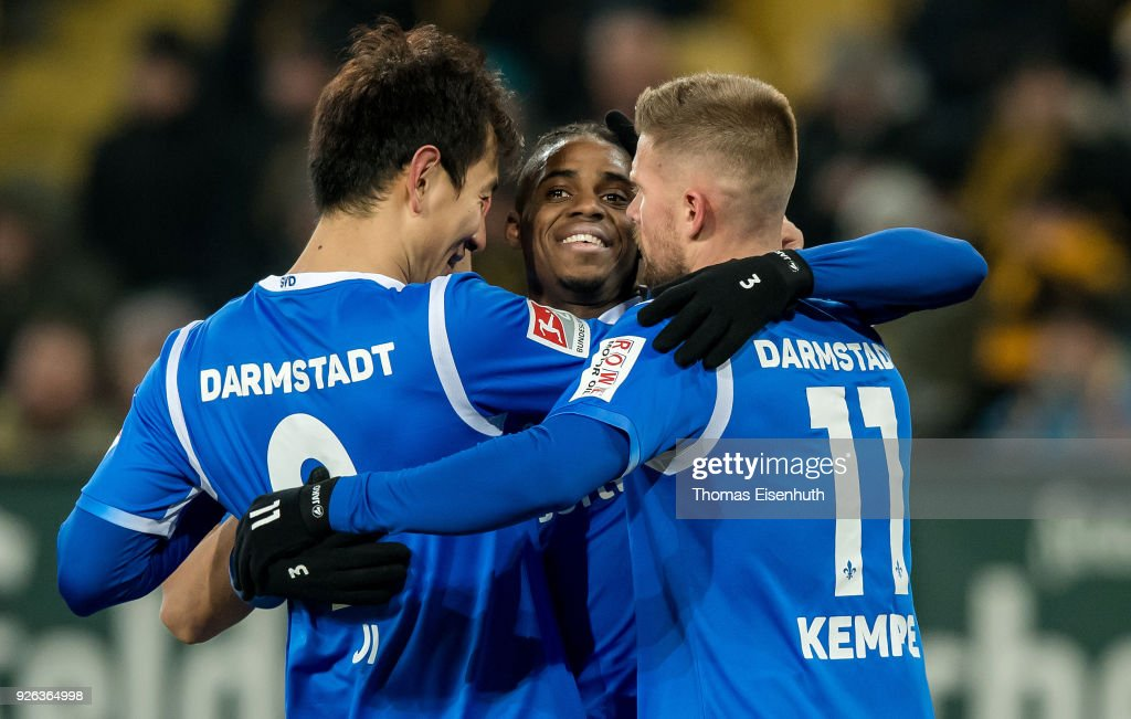 SG Dynamo Dresden v SV Darmstadt 98 - Second Bundesliga : News Photo