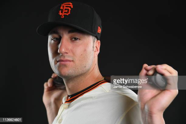 Joey Bart of the San Francisco Giants poses during the Giants Photo Day on February 21 2019 in Scottsdale Arizona