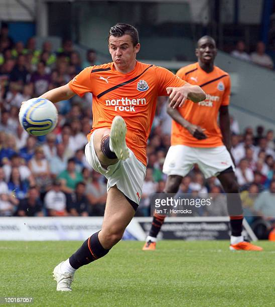 Joey Barton during a Preseason friendly match between Leeds United and Newcastle United at the Elland Road on July 31 2011 in Leeds United Kingdom