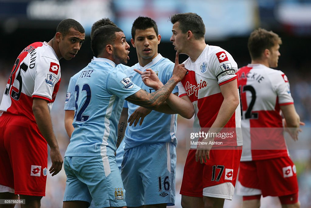 Soccer : Barclays Premier League - Manchester City v Queens Park Rangers : News Photo