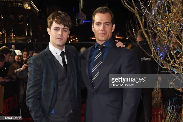 Joey Batey and Henry Cavill attend the World Premiere of Netflix's The Witcher at Vue West End on December 16 2019 in London England