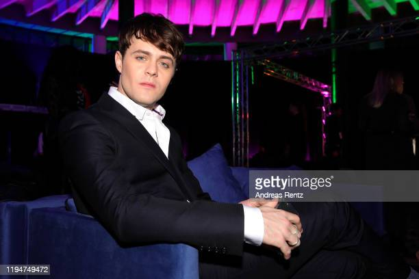 Joey Batey attends the premiere of the Netflix series The Witcher on December 18 2019 in Warsaw Poland