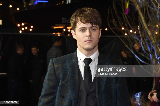 Joey Batey attends the World Premiere of Netflix's The Witcher at Vue West End on December 16 2019 in London England