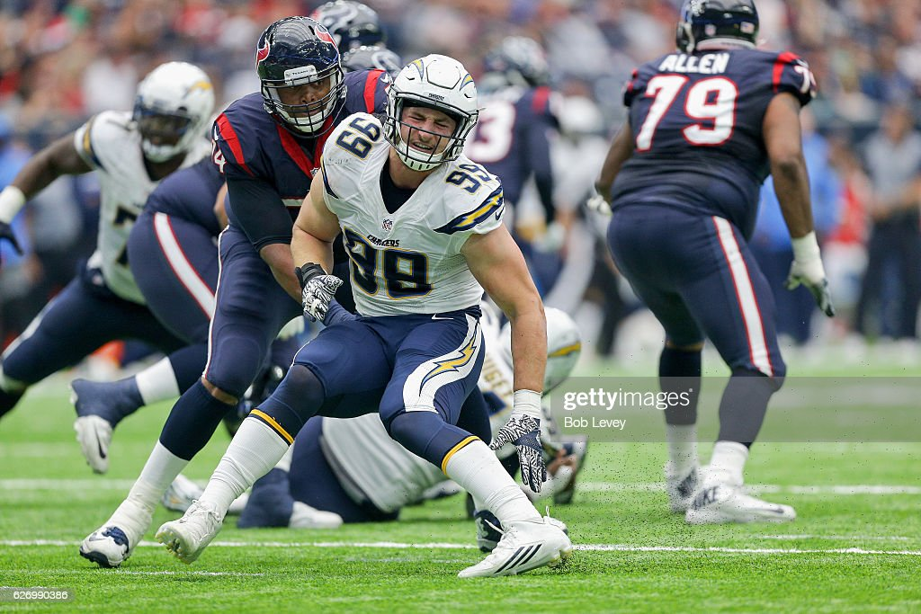 San Diego Chargers v Houston Texans : News Photo