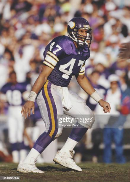 Joey Browner Defensive Back for the Minnesota Vikings during the National Football Conference East game against the Phoenix Cardinals on 27 October...