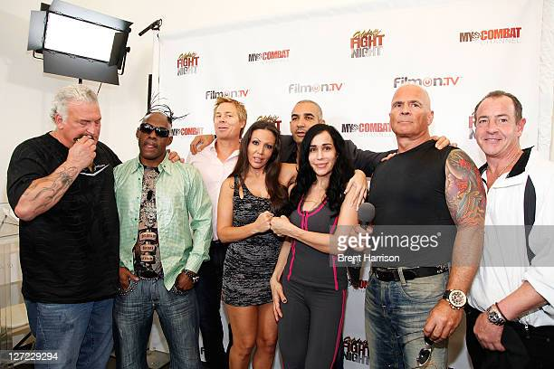 Joey Buttafouco Coolio Kato Kaelin Amy Fisher Alki David Nadya Octomom Suleman Lou Ballera and Michael Lohan attend Celebrity Fight Night Official...