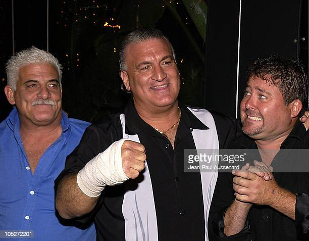 Joey Buttafuoco and guests during Oasis Restaurant Grand Opening at Oasis in Los Angeles California United States