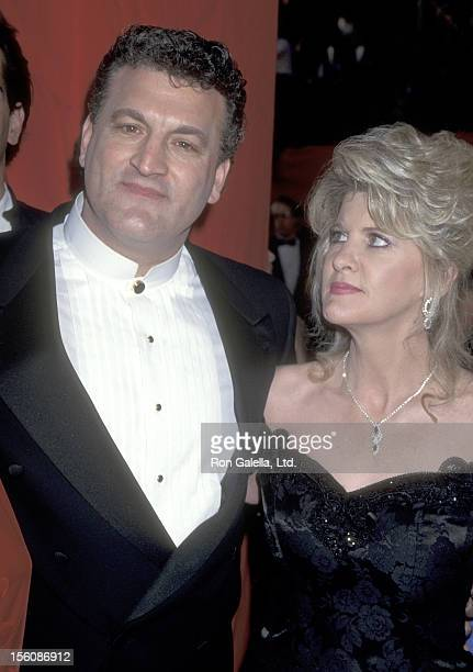 Joey Buttafuoco and wife Mary Jo Buttafuoco attend the 67th Annual Academy Awards on March 27 1995 at Shrine Auditorium in Los Angeles California