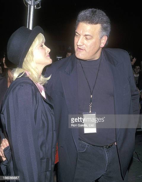 Joey Buttafuoco and wife Mary Jo Buttafuoco attend the 'Private Parts' New York City Premiere on February 27 1997 at Madison Square Garden in New...