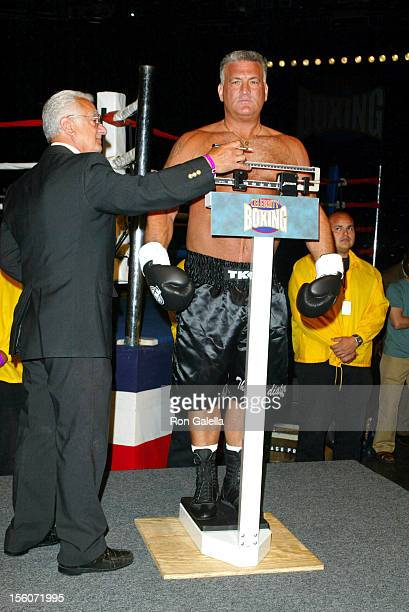 Joey Buttafuoco during 'Celebrity Boxing 2' WeighIn at KTLA Studios in Hollywood California United States
