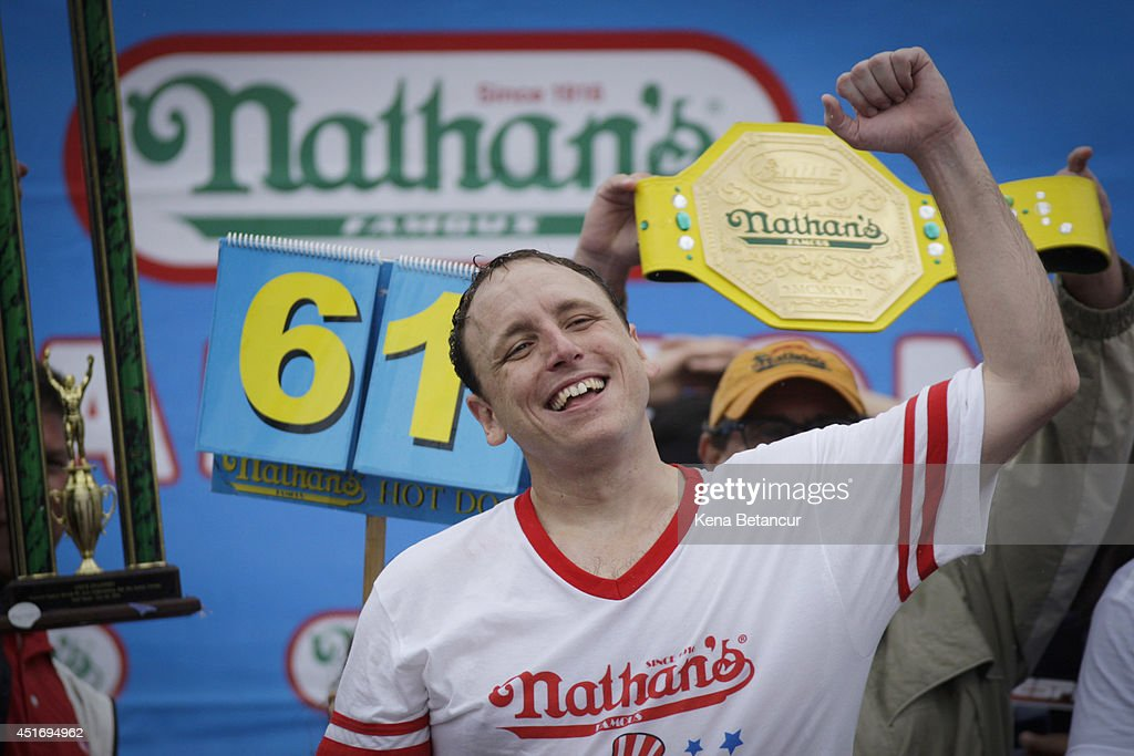 Annual Hot Dog Eating Contest Held On New York's Coney Island