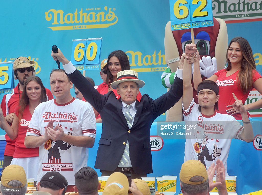 2015 Nathan's Famous 4th Of July International Hot Dog Eating Contest