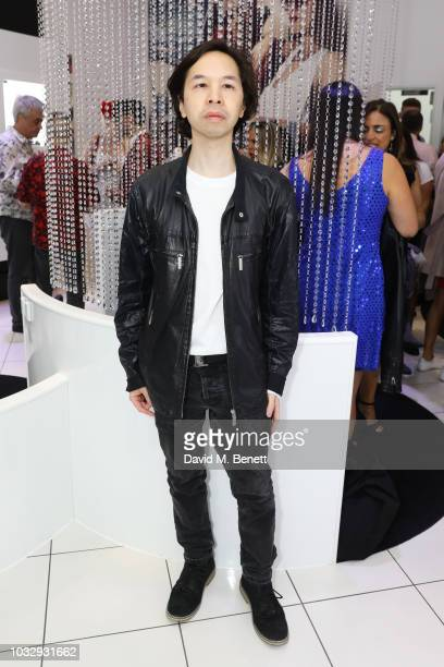 Joey de Cordero attends the launch of Tresor Paris 'In2ruders' featuring Caprice on September 13 2018 in London England