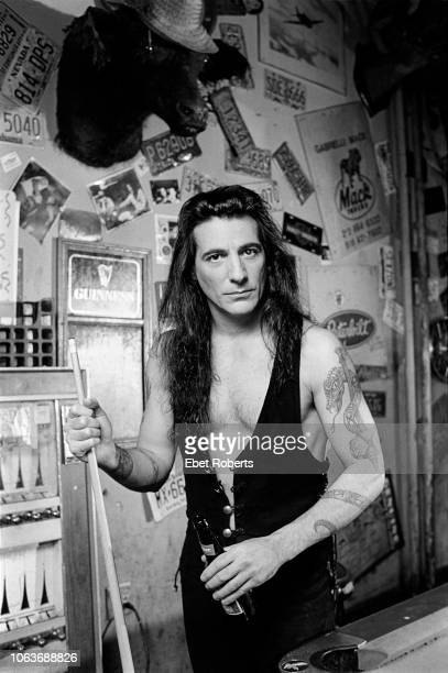 Joey DeMaio of Manowar at Hogs Heifers bar in New York City on September 191997