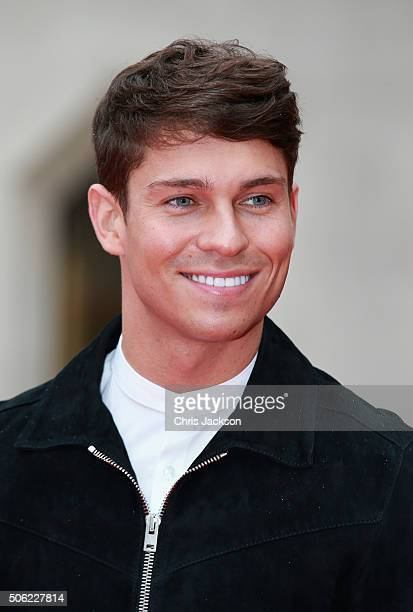 Joey Essex arrives for The Sun Military Awards at The Guildhall on January 22 2016 in London England