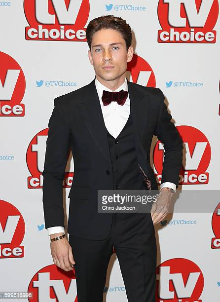 Joey Essex arrives for the TV Choice Awards at The Dorchester on September 5 2016 in London England
