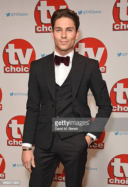 Joey Essex arrives for the TVChoice Awards at The Dorchester on September 5 2016 in London England
