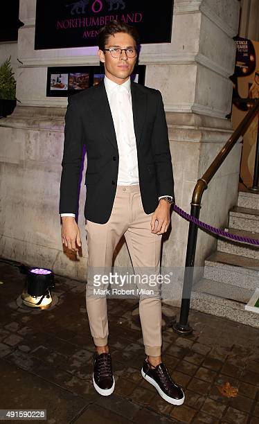 Joey Essex attending the Specsavers 'Spectacle Wearer of the Year' party on October 6 2015 in London England