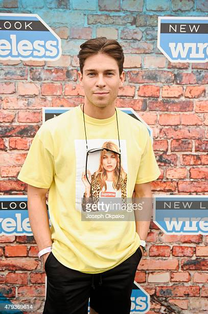 Joey Essex attends Day 1 of the New Look Wireless Festival at Finsbury Park on July 3 2015 in London England