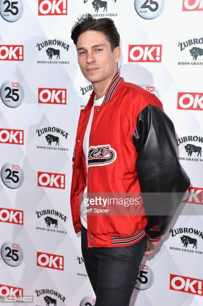 Joey Essex attends OK Magazine's 25th Anniversary Party at The View from The Shard on March 21 2018 in London England