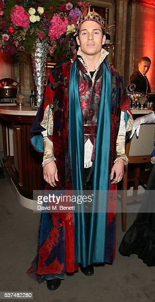 Joey Essex attends Tatler's 'Kings And Queens' party at Savini at Criterion on June 1 2016 in London England