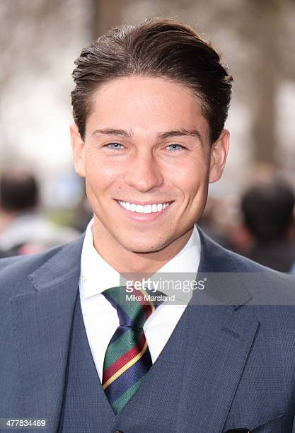 Joey Essex attends the 2014 TRIC Awards at The Grosvenor House Hotel on March 11 2014 in London England