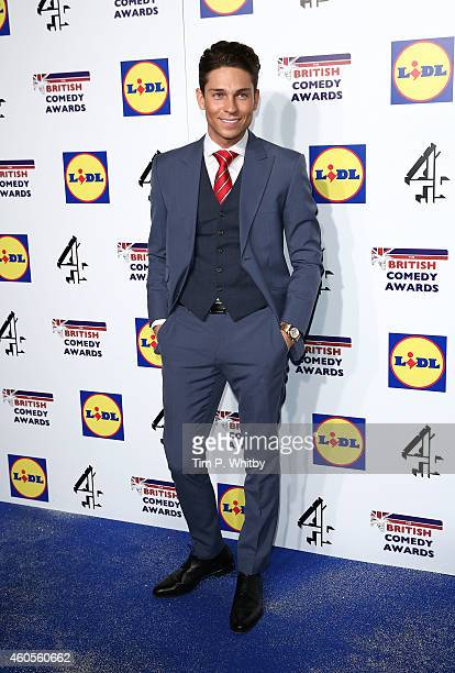 Joey Essex attends the British Comedy Awards at Fountain Studios on December 16 2014 in London England