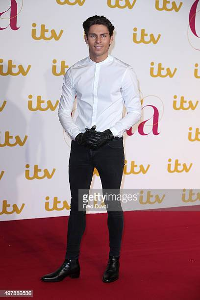 Joey Essex attends the ITV Gala at London Palladium on November 19 2015 in London England