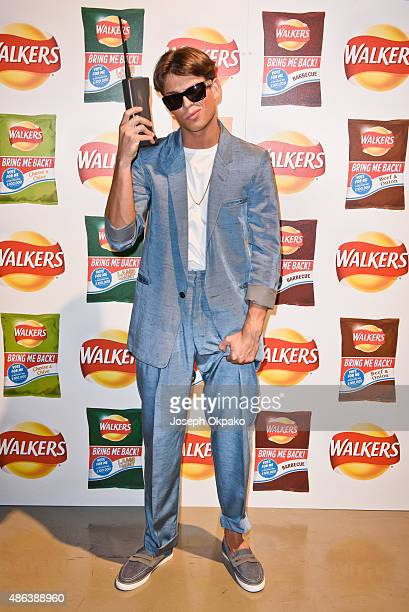 Joey Essex attends the launch of Walkers Bring It Back Campaign at Vinopolis on September 3 2015 in London England