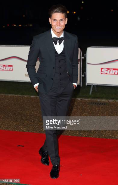 Joey Essex attends The Sun Military Awards at National Maritime Museum on December 11 2013 in London England