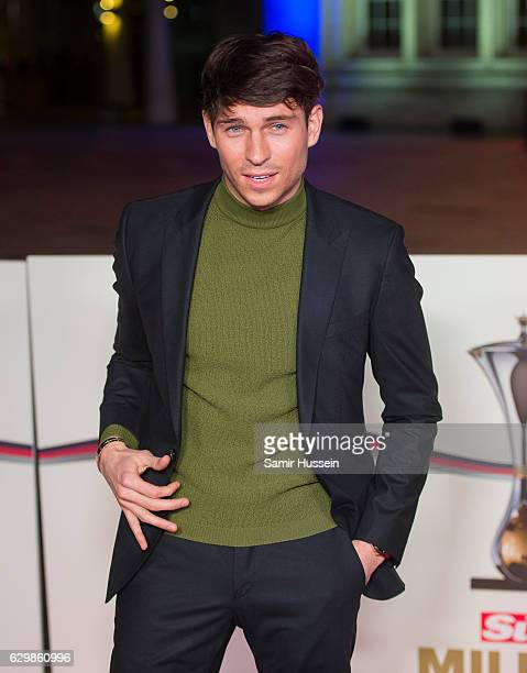 Joey Essex attends The Sun Military Awards at The Guildhall on December 14 2016 in London England