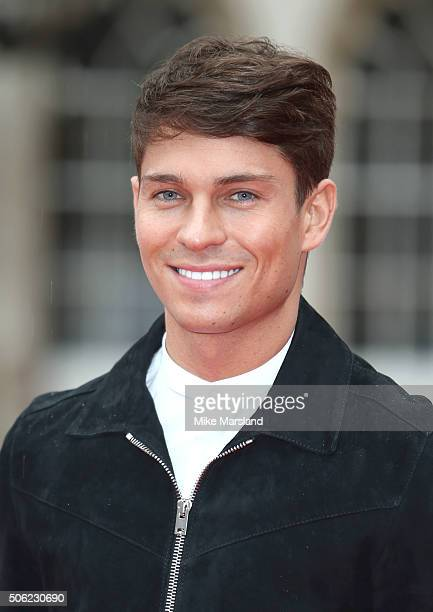 Joey Essex attends The Sun Military Awards at The Guildhall on January 22 2016 in London England