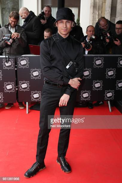 Joey Essex attends the TRIC Awards 2018 held at The Grosvenor House Hotel on March 13 2018 in London England