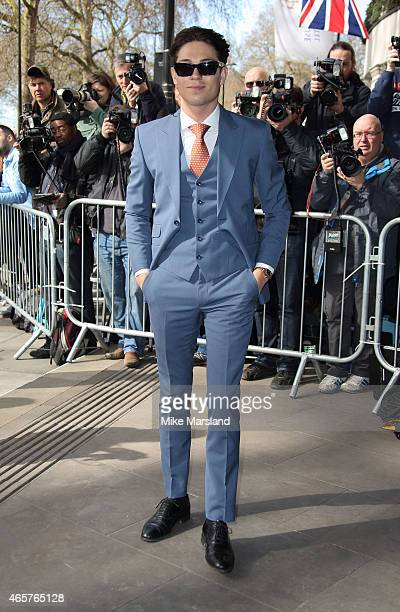 Joey Essex attends the TRIC Awards on March 10 2015 in London England
