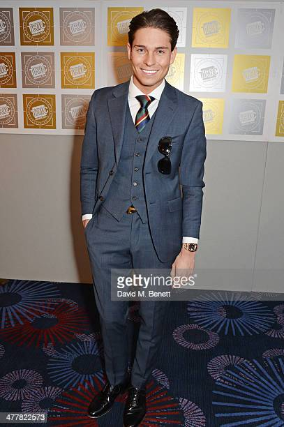 Joey Essex attends the TRIC Television and Radio Industries Club Awards at the Grosvenor House Hotel on 11 2014 in London England