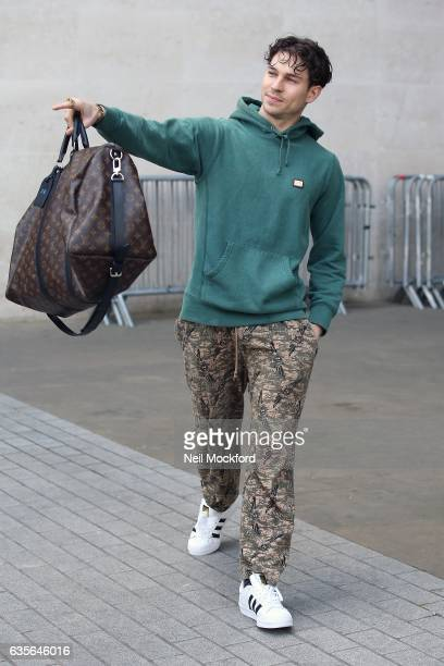 Joey Essex seen at BBC Radio One on February 16 2017 in London England