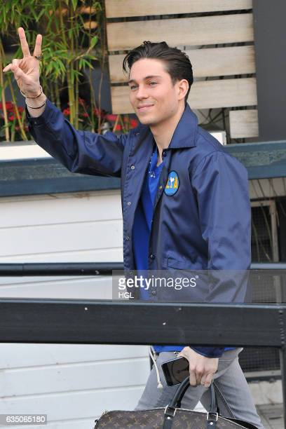 Joey Essex seen on his way into the ITV Studios on February 13 2017 in London England
